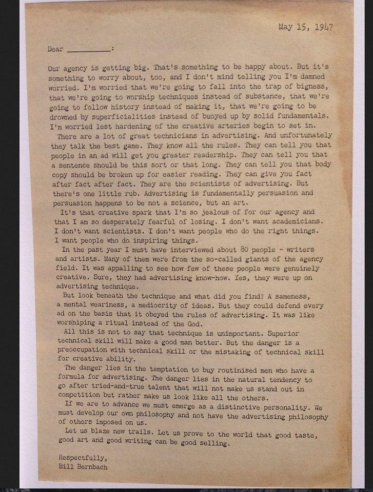 1947 creativity letter full