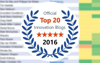 official top 20 innovation blogs 2016 background