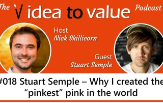 """#018 Stuart Semple - Why I created the """"pinkest"""" pink in the world"""