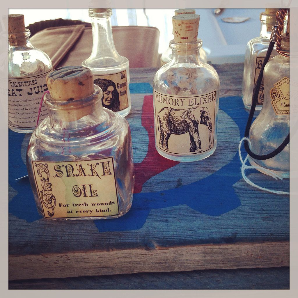 Snake oil: Good for what ails ya!