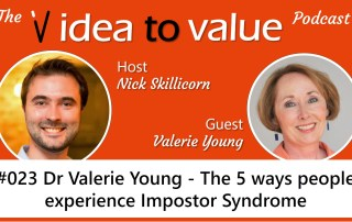 #023 Dr Valerie Young - The 5 ways people experience Impostor Syndrome