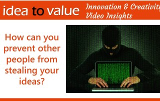 How can you prevent other people from stealing your ideas - wide