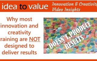 Why most innovation and creativity training are NOT designed to deliver results - wide