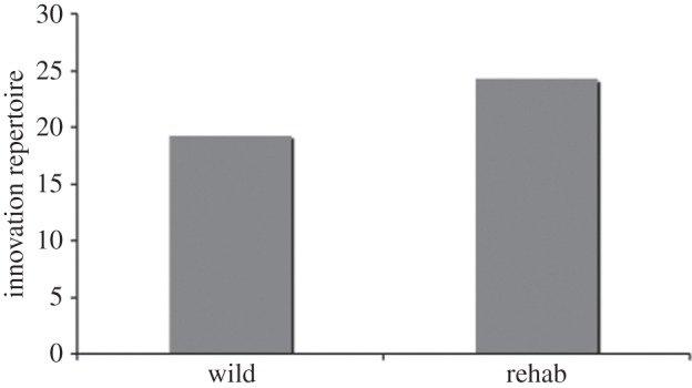 Innovation Repertoire in Orang Utans - Russon et al 2009