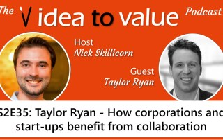 Taylor Ryan - how corporations and startups benefit from collaboration