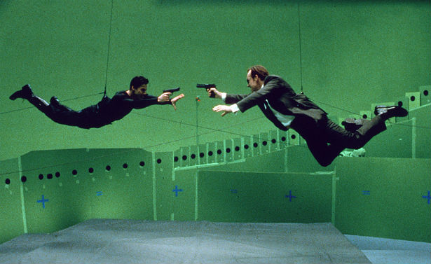 Filming Bullet Time