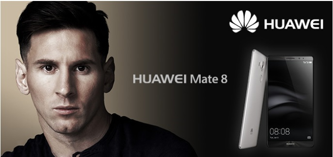 Huawei has paid Lionel Messi millions to endorse their brand