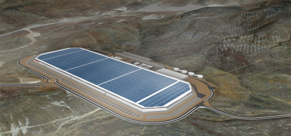 Tesla's Gigafactory is the world's largest building