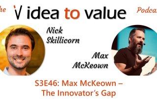 Max McKeown podcast interview Idea to Value