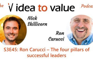 S3E45: Ron Carucci – The four pillars of successful leaders