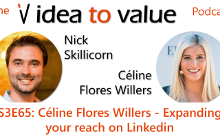 Podcast S3E65: Céline Flores Willers - Expanding your reach on Linkedin