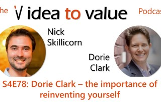 Podcast S4E78: Dorie Clark – the importance of reinventing yourself