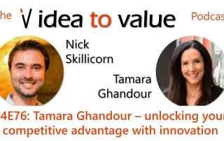 S4E76: Tamara Ghandour – unlocking your competitive advantage with innovation