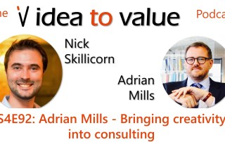 Podcast S4E92: Adrian Mills - Bringing creativity into consulting
