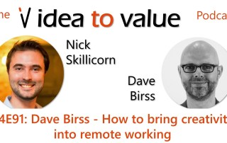 Podcast S4E91: Dave Birss - How to bring creativity into remote working