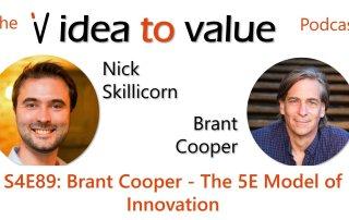 S4E89: Brant Cooper - The 5E Model of Innovation