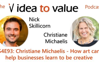 S4E93: Christiane Michaelis - How art can help businesses learn to be creative