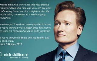 Conan O'Brien on creativity