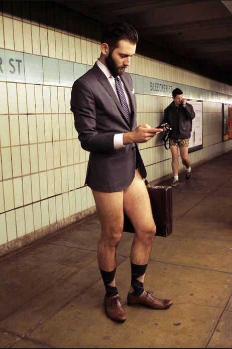 No Pants Suit Jacket