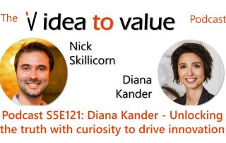 Podcast S5E121: Diana Kander - Unlocking the truth with curiosity to drive innovation