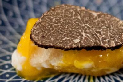 Mouillette à la truffe noire