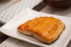 Pavé de saumon terriyaki