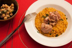 risotto aux restes de couscous