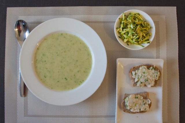 soupe froide d'asperges