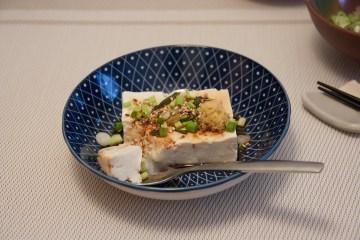 Tofu froid