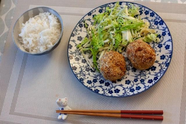 Menchi katsu, croquettes de viande hachée