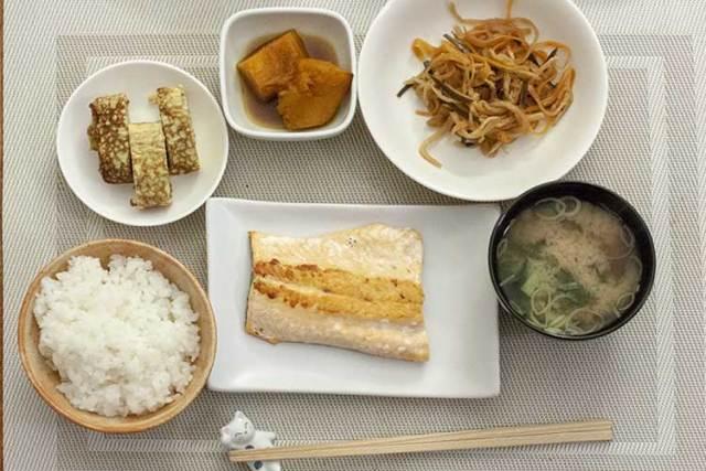 menu japonais du midi