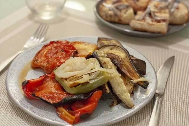 escalivade catalane de légumes