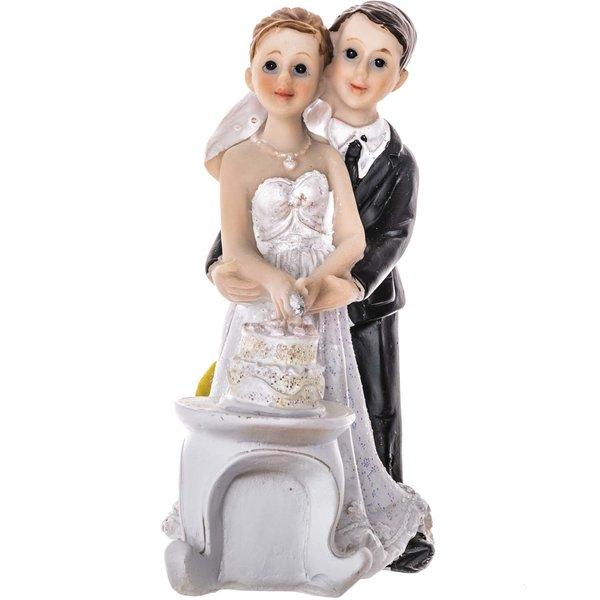 Brautpaar mit Torte 116cm gnstig online kaufen