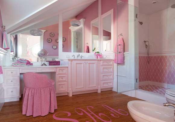 Idee per un bagno Rosa come realizzarlo  Idee Bagno