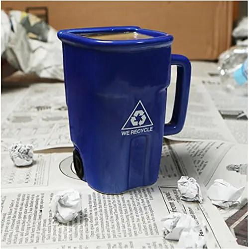 Tasse Recyclage Ide Cadeau Qubec