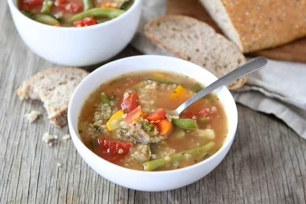 Zuppa di quinoa la ricetta tradizionale  Idee Green