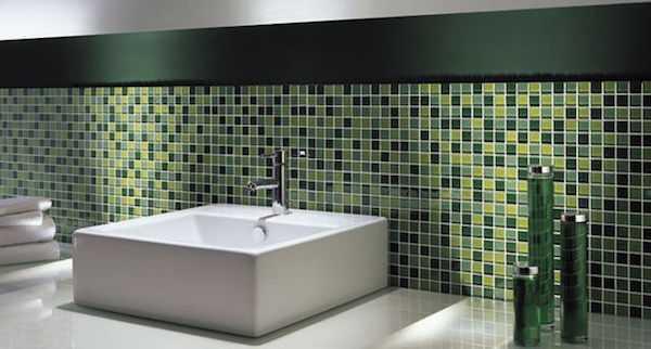 Mosaico adesivo fai da te  Idee Green