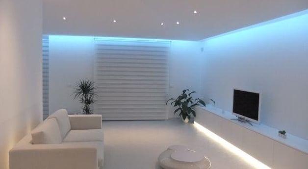 Controsoffitto multifunzione con LED  Idee Green