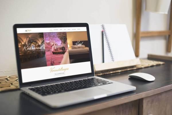 Webdesign Homepage erstellt mit CMS