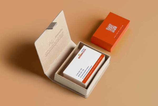 Referenz für Erstellung von Visitenkarten Design