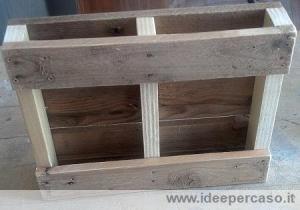 mini pallet di legno base