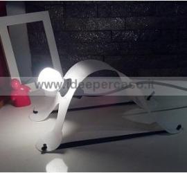 lampada design riciclo plastica a forma di cane