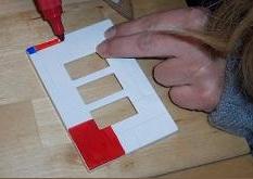 fase del disegno stile Mondriane