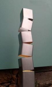 upcycling tubo metallo fare una lampada di eco design