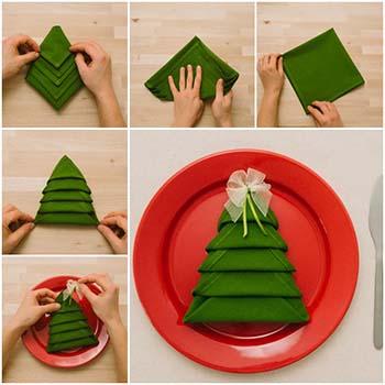 Come Piegare I Tovaglioli Per Natale Guida E Tutorial