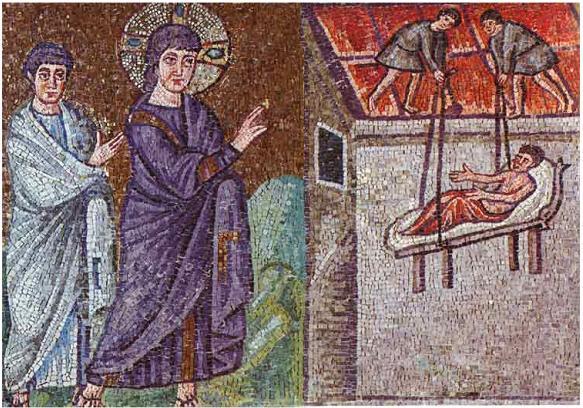 """Résultat de recherche d'images pour """"jésus paralysé capharnaum"""""""