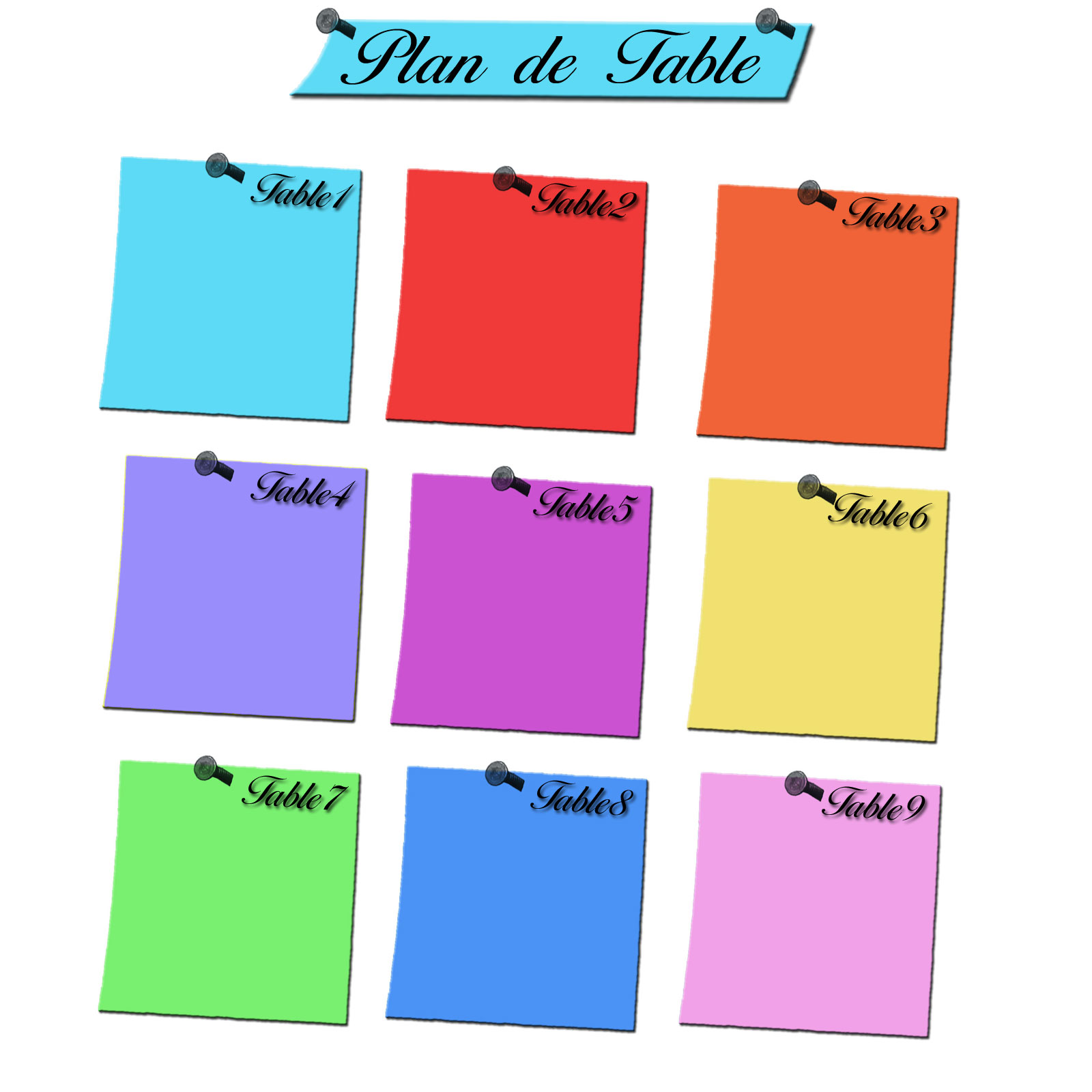 Impression Plan De Table Cool Impression Numrique Pour Un