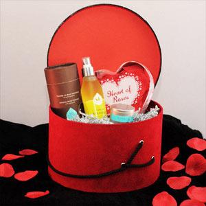 Le Coffret Cadeau Thme Saint Valentin Le Mag Du