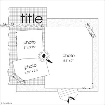 scrapbooking 3 photos