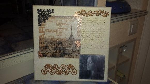 Tableau de Ghislaine Bauge